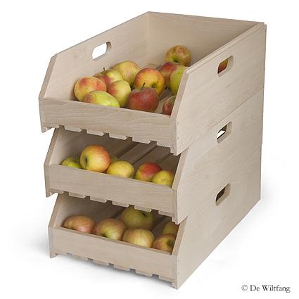 Fruitkistje stapelbaar € 42.00